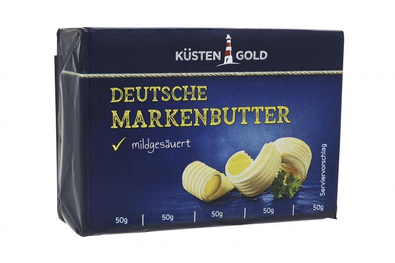 Küstengold Deutsche Markenbutter