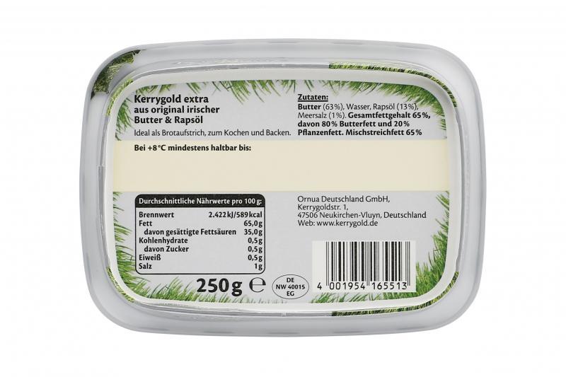 Kerrygold extra Butter & Rapsöl mit Meersalz