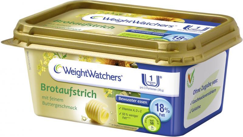 Weight Watchers Brotaufstrich mit feinem Buttergeschmack