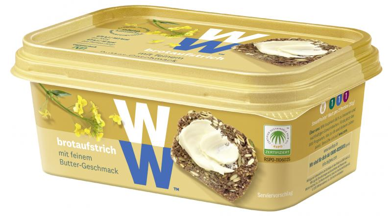 WW - Wellness that Works Brotaufstrich mit feinem Buttergeschmack