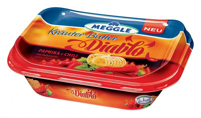 Meggle Kräuter-Butter Diablo