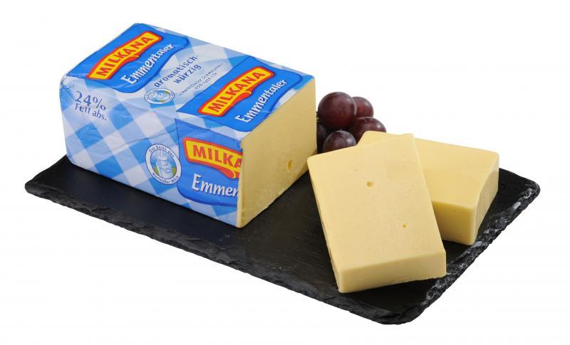 Milkana Emmentaler 45% Fett i.Tr.
