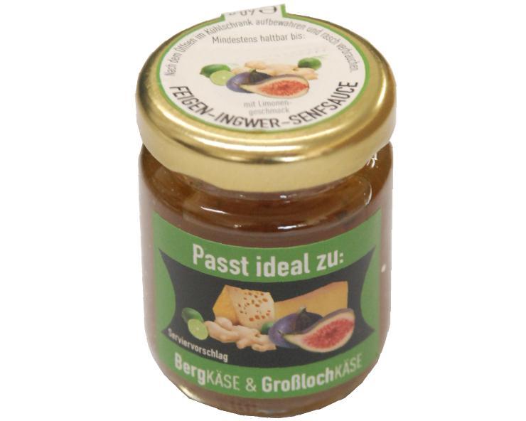 Ruwisch & Zuck Feigen-Ingwer-Limetten-Senfsauce