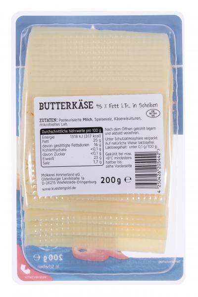 Küstengold Butterkäse sahnig-mild