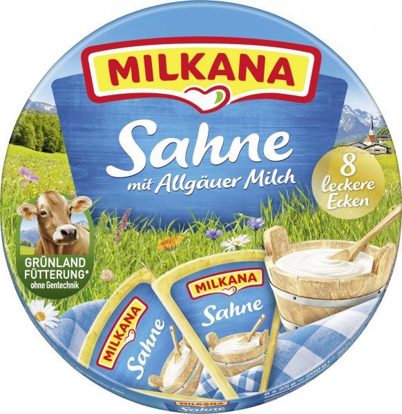 Milkana Schmelzkäse-Ecken Sahne