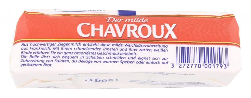 Chavroux Der milde Weichkäse