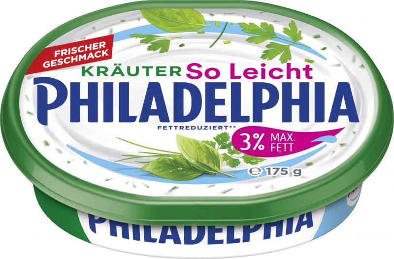 Philadelphia Frischkäse Kräuter So Leicht