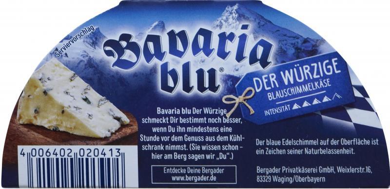 Bergader Bavaria Blu Der Würzige Blauschimmel