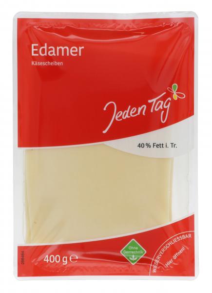 Jeden Tag Edamer Käsescheiben