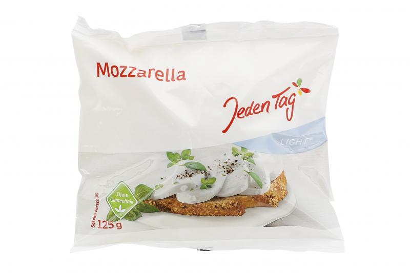 Jeden Tag Mozzarella light