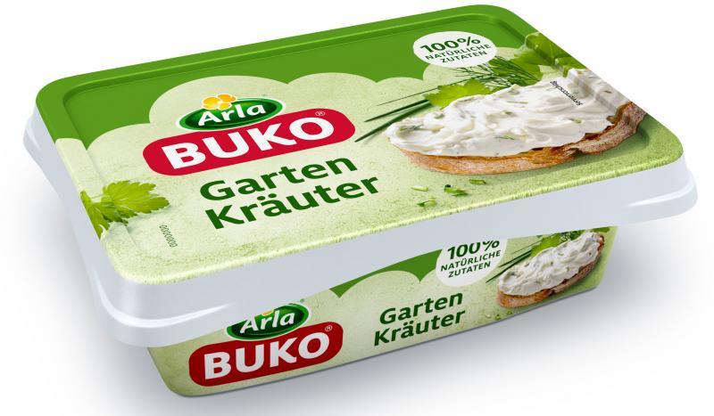 Arla Buko Gartenkräuter Frischkäse, ohne Gentechnik