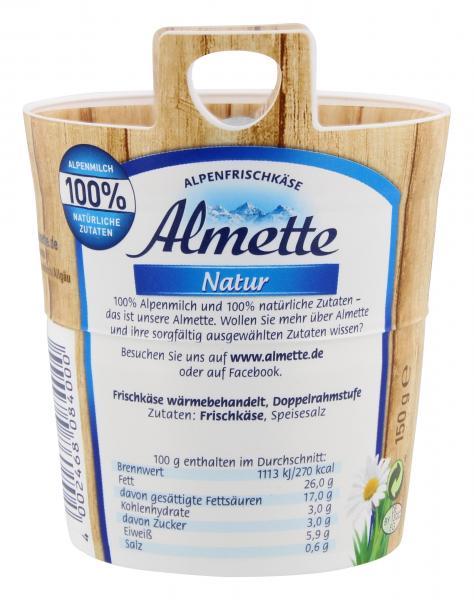 Almette Alpenfrischkäse Natur