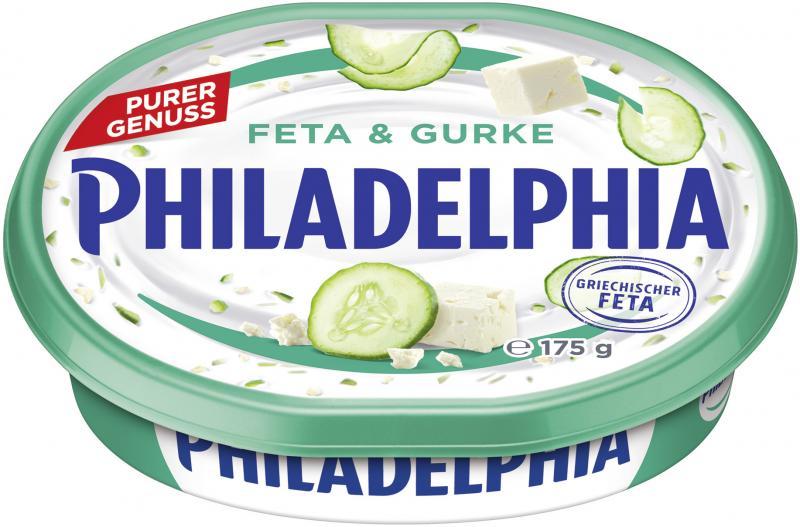 Philadelphia Frischkäse Feta & Gurke