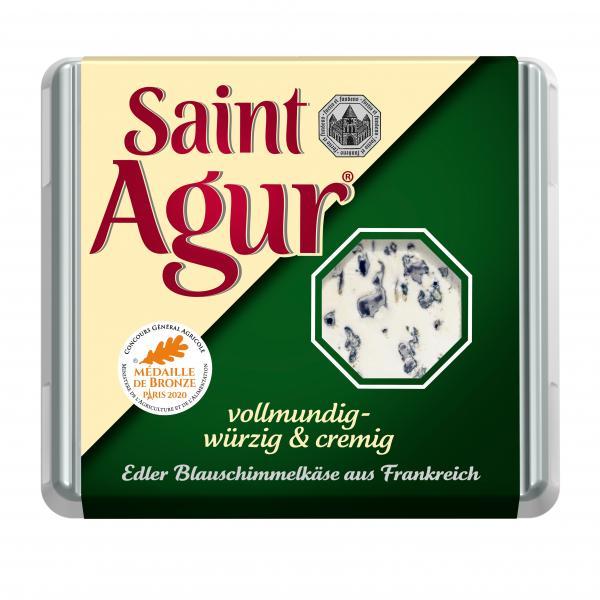 Saint Agur vollendet zart und cremig