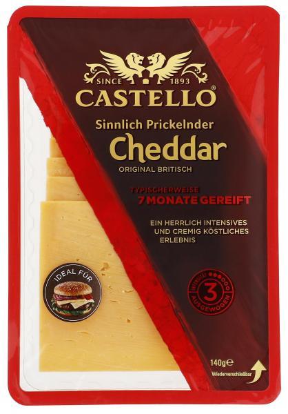 Castello Cheddar 7 Monate gereift