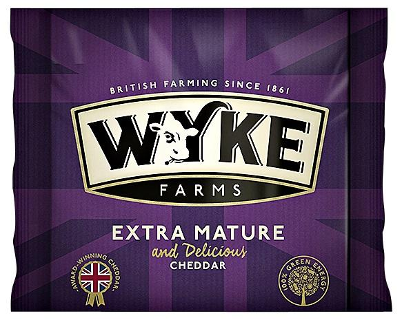 Wyke Cheddar Extra Mature and Delicious