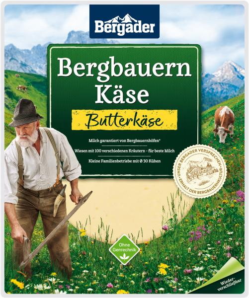 Bergader Bergbauern Butterkäse Scheiben