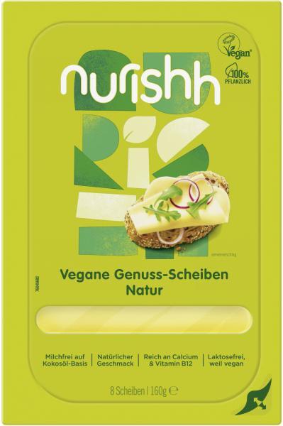 Nurishh vegane Genuss Scheiben natur