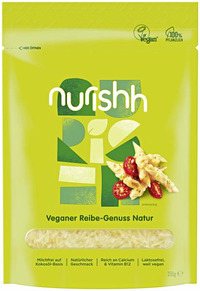 Nurishh veganer Reibe Genuss natur