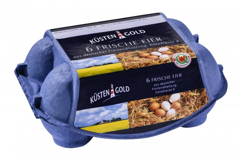 Küstengold Eier Klasse L/M Freilandhaltung
