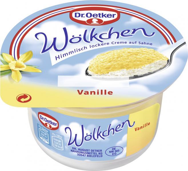Dr. Oetker Wölkchen Vanille