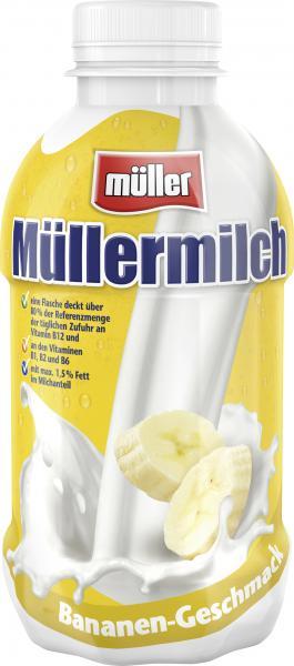 Müllermilch Banane