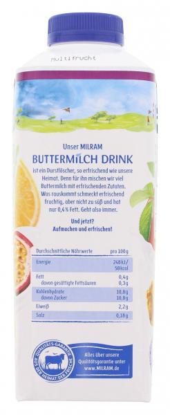 Milram Buttermilch Drink Multifrucht