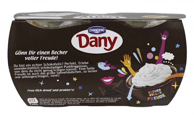 Dany Sahne Dunkle Schokolade