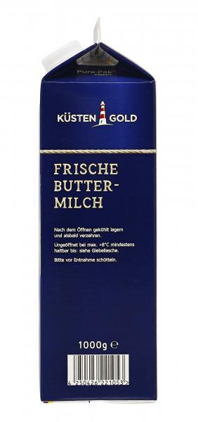 Küstengold Frische Buttermilch