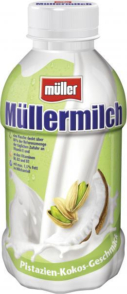 Müller Müllermilch Pistazie-Cocos