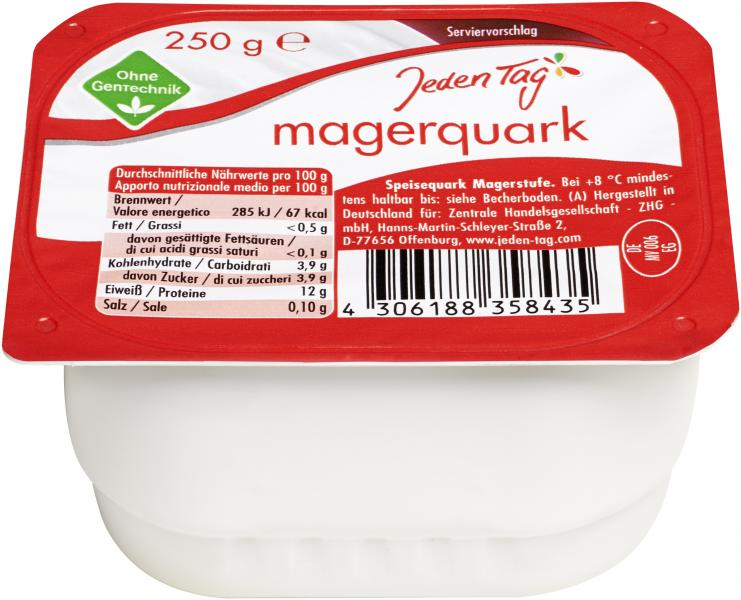 Jeden Tag Magerquark