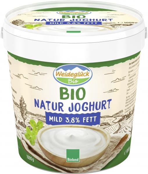 Weideglück Bio Joghurt mild 3,8