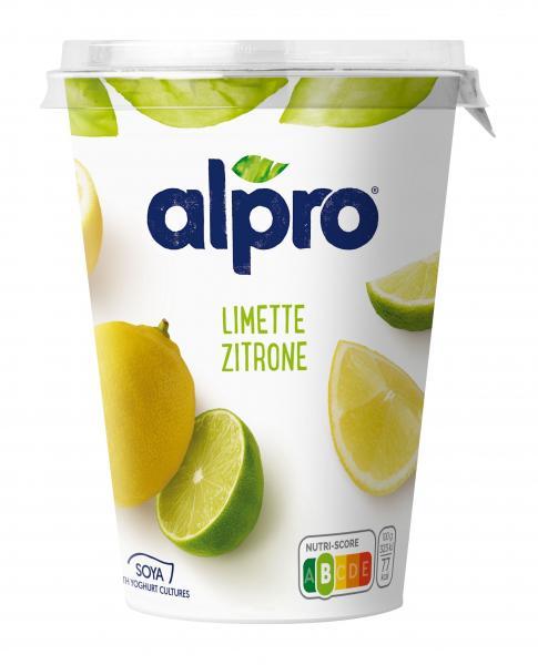 Alpro Soja-Joghurt Limette-Zitrone