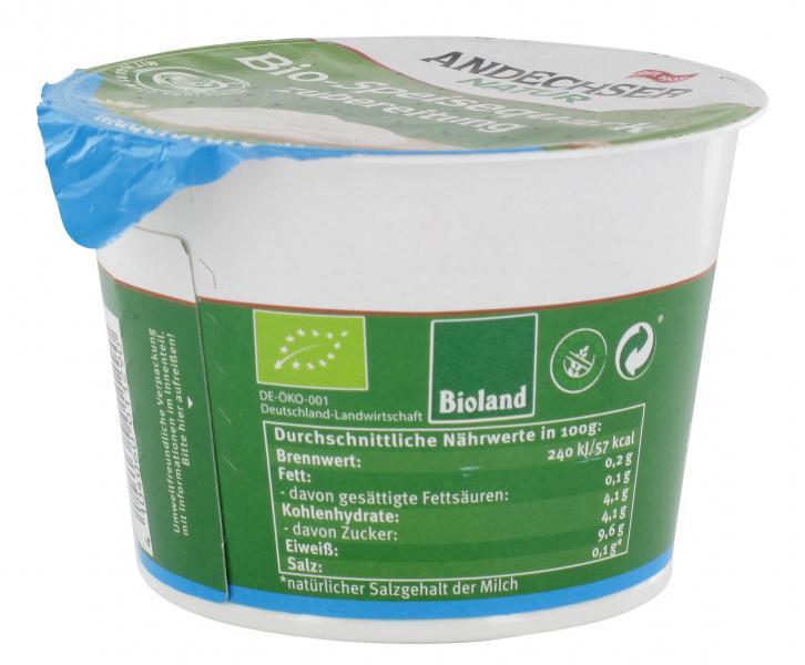 Andechser Natur Bio-Speisequarkzubereitung Magerstufe