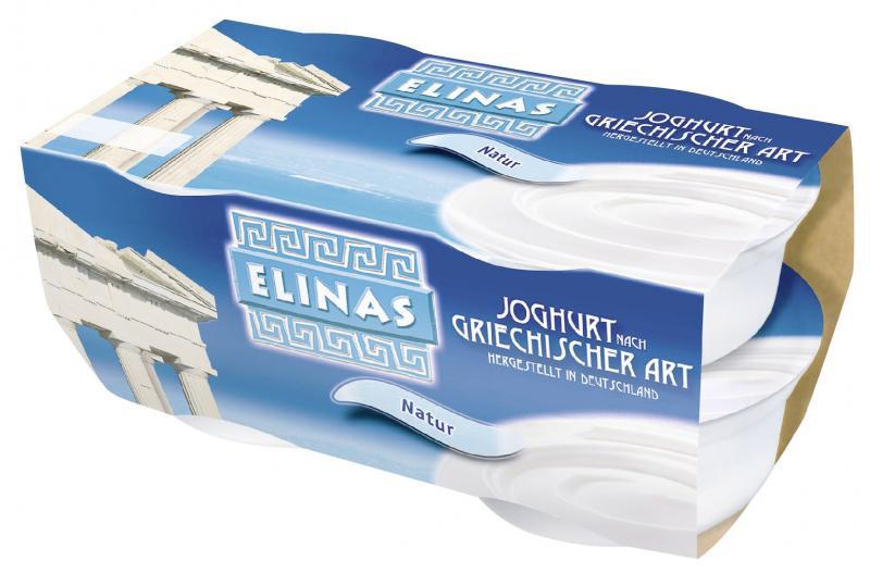 Elinas Joghurt nach griechischer Art Natur