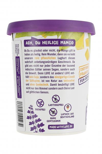 Made with Luve Lupinen Joghurt-Alternative Mango
