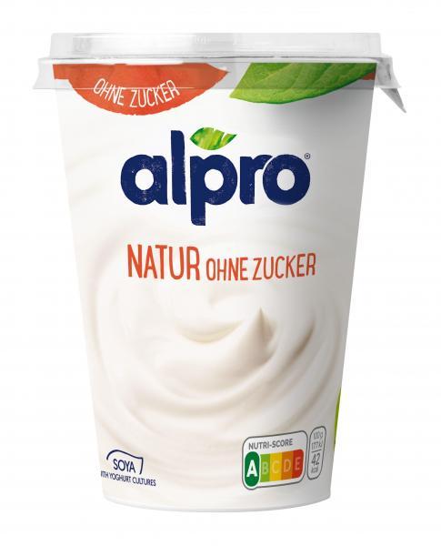 Alpro Soja-Joghurtalternative Natur Ohne Zucker vegan