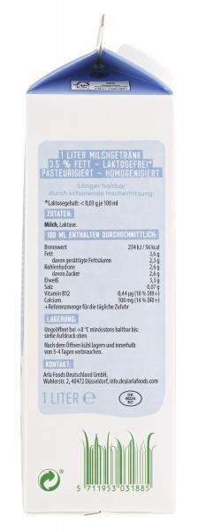 Arla Milch laktosefrei 3,5%