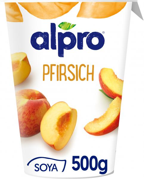 Alpro Soya Joghurt Pfirsich
