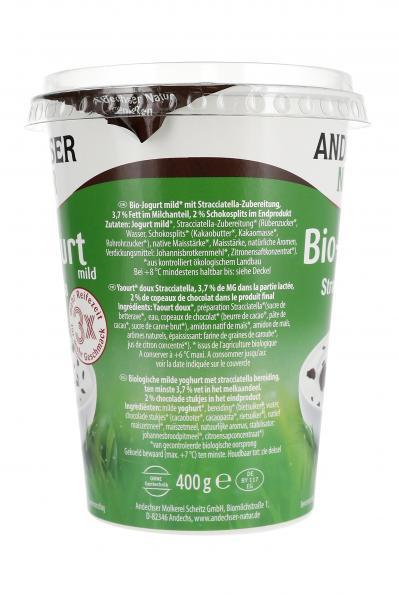 Andechser Natur Bio-Joghurt Stracciatella