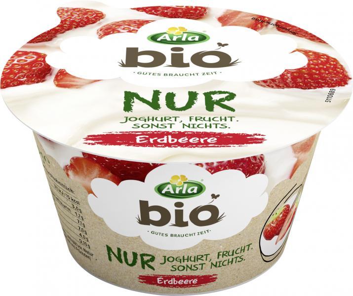 Arla Bio Nur Joghurt Erdbeere