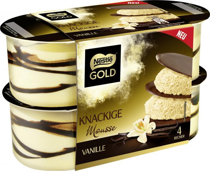 Nestlé Gold Knackige Mousse Vanille
