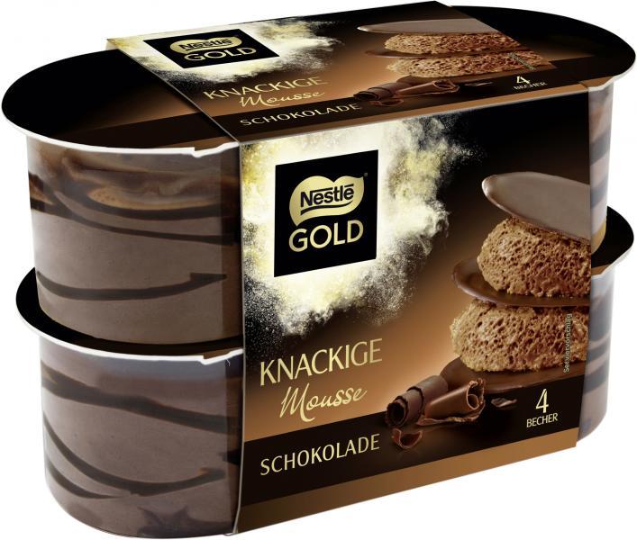 Nestlé Gold Knackige Mousse Schokolade