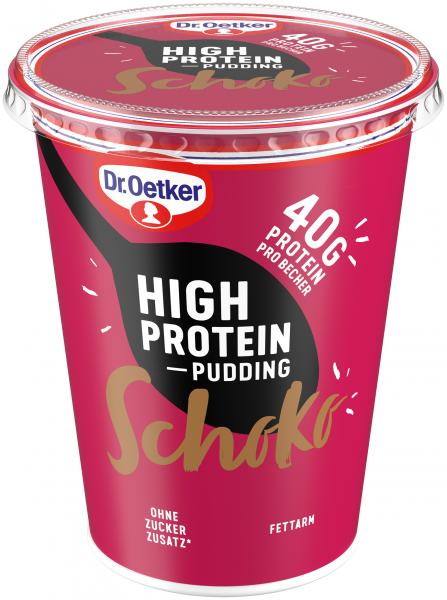 Dr. Oetker High Protein Pudding Schoko