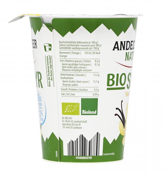 Andechser Natur Bio Skyr Vanille