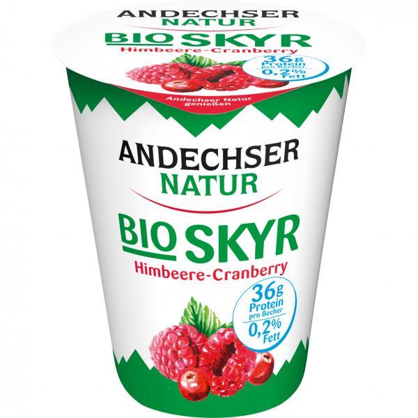 Andechser Natur Bio Skyr Himbeere-Cranberry