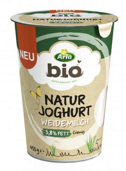 Arla Bio Naturjoghurt Weidemilch