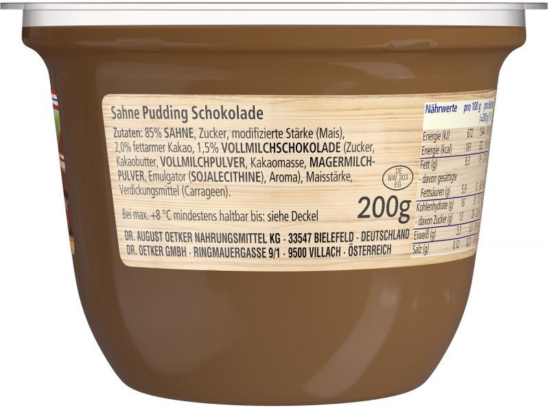 Dr. Oetker Löffelglück Sahnepudding Vollmilch-Schokolade