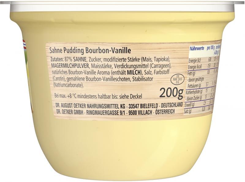 Dr. Oetker Löffelglück Sahnepudding Bourbon-Vanille