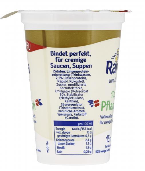 Rama Cremefine zum Kochen 15% Fett 100% pflanzlich